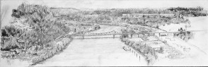 PA river view